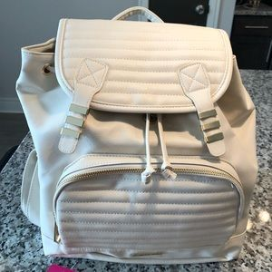 Rampage Cream and Gold NWT! Backpack